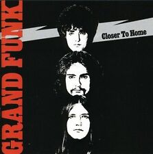 GRAND FUNK RAILROAD CLOSE TO HOME 4 EXTRA TRACKS REMASTERED CD NEW