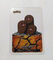 051 Dugtrio POKEMON Lamincards Collection 2005 EDIBAS Español