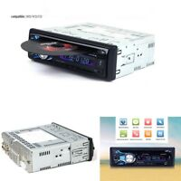 LCD Screen Bluetooth Car Stereo Audio Radio DVD CD MP3 Player With USB AUX MMC