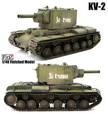 WWII Russian KV-2 Model 1941 1/48 FloZ finished tank model