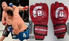 Sergei Kharitonov Signed Bellator 163 Fight Worn Used Gloves BAS COA MMA Auto'd