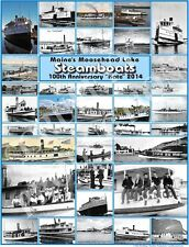Katahdin 100th Anniversary Commemorative Poster - Steamships On Moosehead Lake