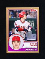 2018 Topps Series 2 SHOHEI OHTANI 1983 ROOKIE Gold Parallel /50 RC 83-1 35th Ann