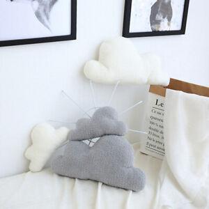 Cloud Shaped Cushion Pillow Stuffed Toy Baby Nursery Sofa Throw Home Decor