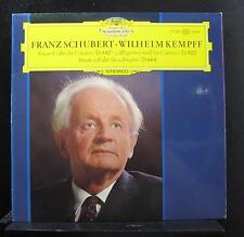 Schubert, Kempff - Sonate C & A-dur/ Allegretto C-moll LP Mint- 139 322 Record