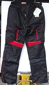 HB Mens Motorcycle Waterproof Breathable Cordura Pants - Size 36x30 - NWT