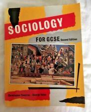 SOCIOLOGY FOR GCSE BY CHRISTOPHER TOWNROE & GEORGE YATES PAPERBACK BOOK VGC