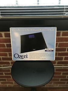 OZERI PRECISION PRO II DIGITAL BATH SCALE 440 LBS CAPACITY WITH WEIGHT CHANGE