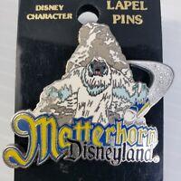 Matterhorn 2007 Disneyland Collectors Trading Pin Abominable Snowman Yeti
