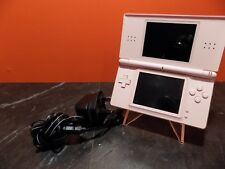 Nintendo DS Lite Pink Console with Charger PAL L119