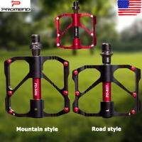 1 Pair Bike Pedals Mountain Road Alloy Sealed Bearing Anti Slip Bicycle Pedaling