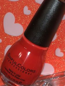 """Sinful Colors Professional Nail Polish """"CLAD IN PLAID 2020"""" *FASTEST SHIPPING*"""