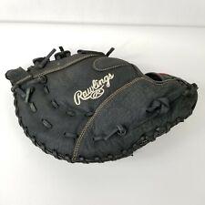 "Rawlings RFBRB Renegade 12.5"" 1st First Baseman Glove RHT Black Nice"