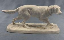 Setter Figur nymphenburg porzellan porzellanfigur Hundefigur hund jadghund