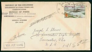 Mayfairstamps Philippines 1963 Dept Public Works Volcano World Against Malaria C