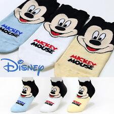 3 Pairs Womens Girls Big Kid s Disney Character Socks Mickey Mouse Cartoon Socks