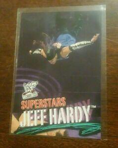 2001 JEFF HARDY WWF Fleer Wrestling #7 Rookie Card