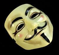 Mascara V de Vendetta disfraz halloween Careta Movimiento Anonymous V Vendeta