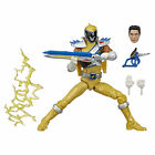 Power Rangers Lightning Collection 6-Inch Dino Charge Gold Ranger Collectible
