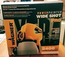 Wagner Power Painter Wide Shot Pro Power Spray Painter Gun