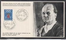 Éditions Tony Krier Luxembourg 1971 -  JEAN JACOBY MÉDAILLE D'OR AUX CONCORS