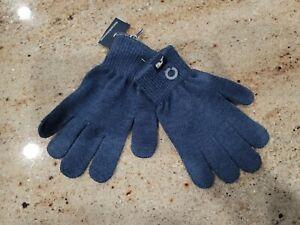 New Boy's VINEYARD VINES Moonshine VV Polyester Winter Gloves One Size