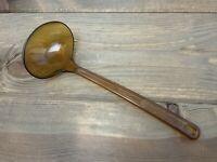 Vintage Ladle ROBINSON KNIFE CO Ultratemp Amber Plastic  2109-1 USA