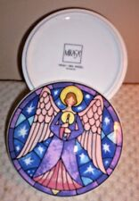 MIKASA Angel with Spread Wings  Dish ~ HK501/68 ~ Multi-Color Ceramic Pottery