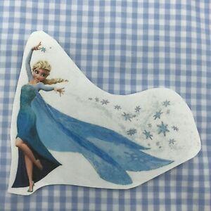 ♥ 1 Bügelbild Eiskönigin Transferfolie  weiße, helle Stoffe ♥