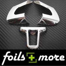 Chrom Lenkrad Blende Abdeckung Clip für VW Golf 6 VI Passat Touran 3-teilig