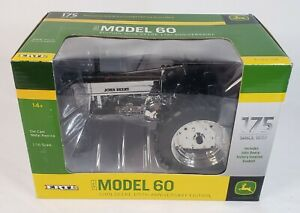 John Deere Model 60 Tractor Chrome 175th Anniversary Ed. by Ertl 1/16 Scale