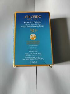 Shiseido Expert Sun Protector 150ml Face and Body Lotion SPF50+  Brand NEW