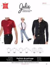 Jalie Men's Figure Ice Skating Bodyshirt Shirt Costume Sewing Pattern 2802
