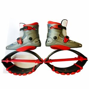 """Joyfay Jumping Shoes Boots Fitness Bounce Shoes for feet 9.5"""" (see notes) 6.5 8"""
