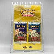 Blister Double Booster Pack Umbreon - US - Ed.2 - Pokemon - SEALED Neo Discovery