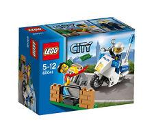 LEGO City Polizei-Motorrad-Jagd 60041