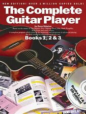 The Complete Guitar Player Books 1 2 & 3 Omnibus Edition Book and Cd 014022712
