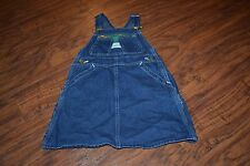 A13- Vintage Liberty Overalls Dress Size Girls 6