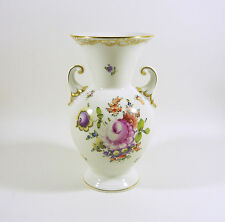 "HEREND, BOUQUET DE HEREND DOX (BHR-DO) VASE 8"", HANDPAINTED PORCELAIN !"