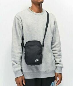 FREE SHIPPING Nike Heritage 2.0 Black Shoulder Bag Crossbody Travel Bag BA5898