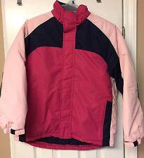 Talbots Kids Winter Jacket Coat Pink 14/16 EC