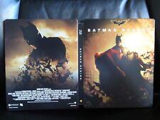 Batman Begins Blu-Ray Steelbook [Spain] Region Free Open Mint Dark Knight Nolan
