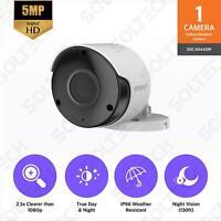 AS-IS SAMSUNG Wisenet 5MP 2592x1944P Super HD Weatherproof camera  SDC-89445BF