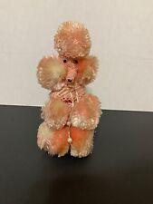 Vintage Pink Crochet Poodle Bottle Cover Rustic W/ Vintage Pepsi-cola Bottle