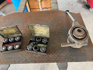 Jacobs Model 92 Collet Chuck & Rubber Flex Collet Set