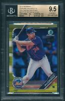 2019 Bowman Chrome PETE ALONSO Yellow /75 Refractor ROOKIE RC BGS 9.5 [BBE]