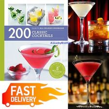 200 Classic Cocktails Recipe Book Party Drink Alcohol Paperback Hamlyn Summers