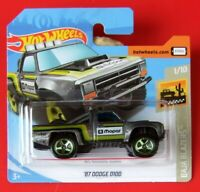 Hot Wheels 2019  ´87 DODGE D100    64/250   NEU&OVP