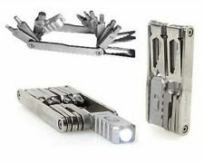 Swiss Tech Mega-Max 15-In-1 Hunting Fishing Multi-Tool, Led Light Wrench Drivers