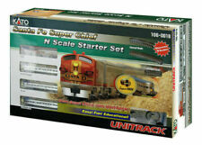 KATO ~ New 2020 ~ N Scale Santa Fe Super Chief F7A Unitrack Starter Set ~1060018
